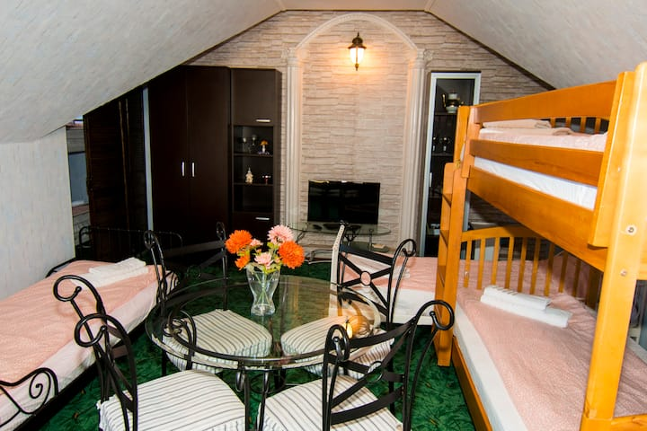 Compact Loft in Beautiful Villa, 13 guests