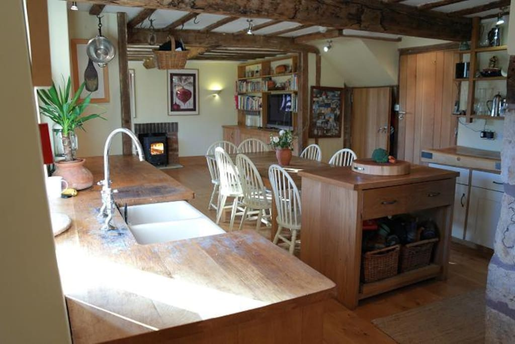 Timberstone country kitchen