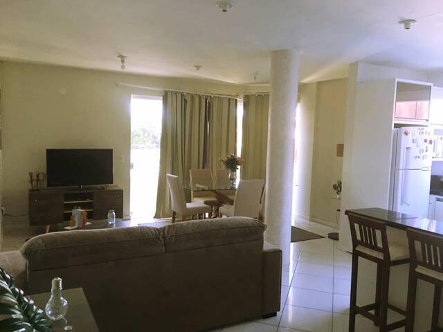Bonito apartamento na praia de  Imbituba, SC.