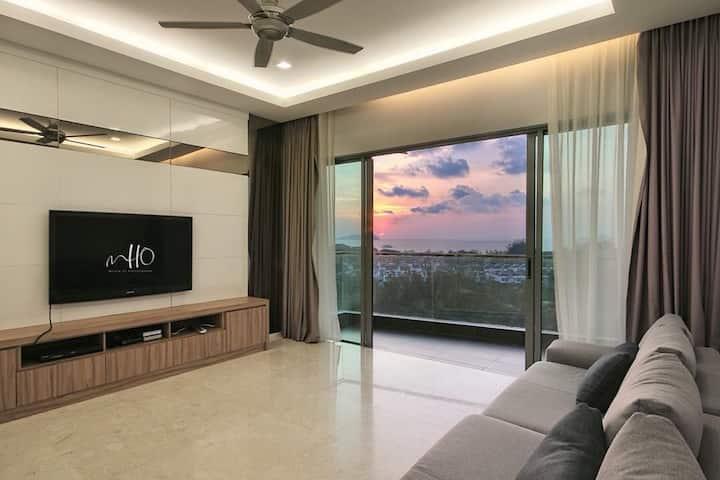 Imago Mall 完美无敌日落、 高尔夫球场、三房公寓 | Superb Sunset View