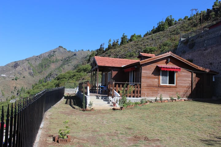 Wood Cabin in Dhanaulti