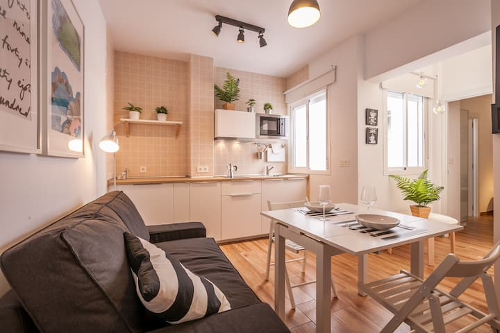 Apartamento Terraza privada junto Plaza San Lorenz