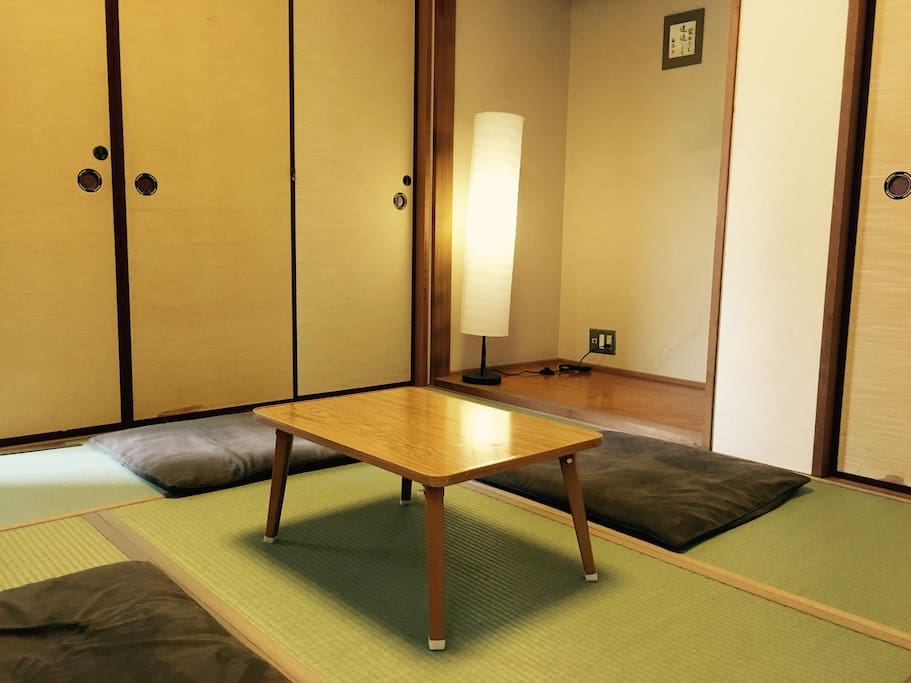 Japanese style. Private room.