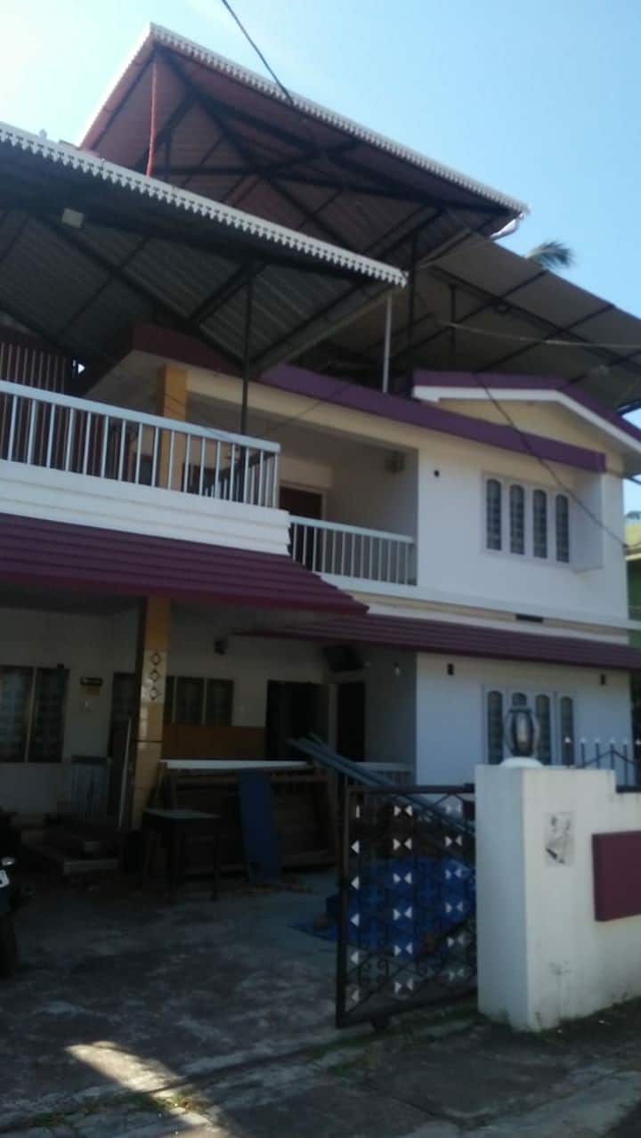 Furnished A/C 3 BR+AC Hall-1 KM to Town and RLYSTN