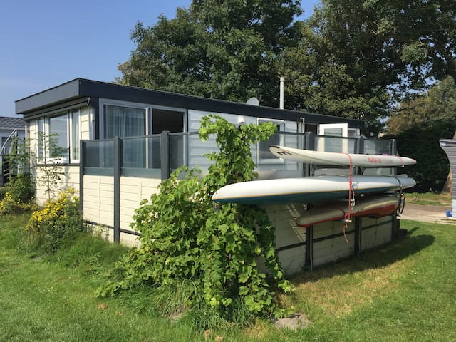 "Chalet in Workum op camping ""It Soal"""