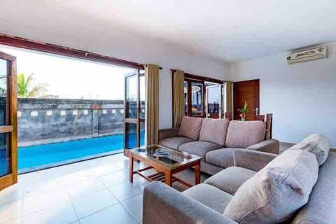 Medewi Surf Villa 2 single bedroom Share