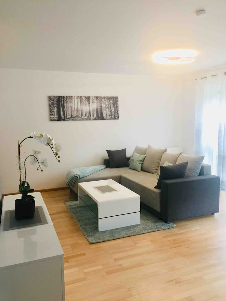 Beautiful apartment with 62qm and balcony