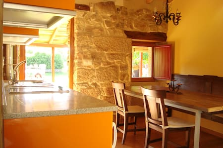 Getaway from it all cottage Galicia - Albergueria - Huis