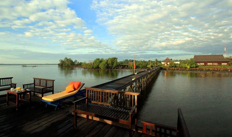 A Seafront Villa with Private Jetty
