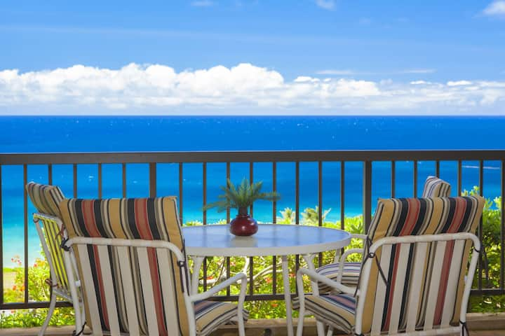 Villa 2214. 5th Night FREE! Cozy villa, with ocean and island views tropical dreams are made of!