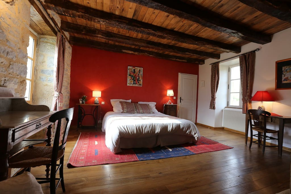 La bruyle b b de charme chambre colonjac guesthouses for for Chambre de charme france