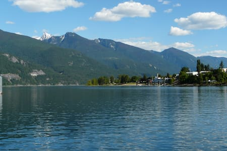 Kootenay Lake Waterfront Condo - Kaslo