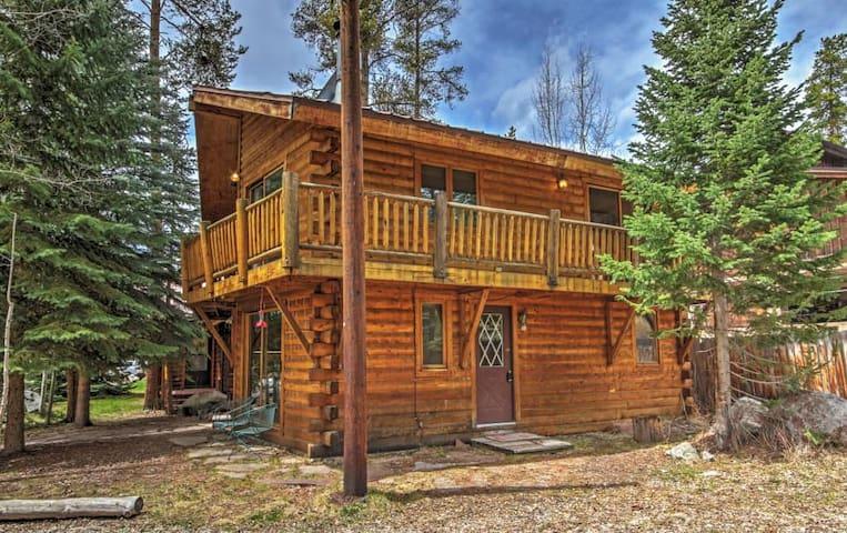 Rustic 3BR Grand Lake Cabin at Lemmon Lodge - Grand Lake - Kabin