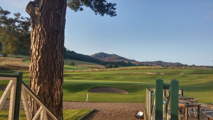 Ben-y-Vrackie from Pitlochry Golf Course - simply stunning!