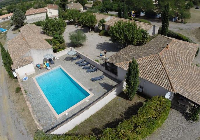 Villa Domaine de La Treille 8 Pers - Ruoms - Villa