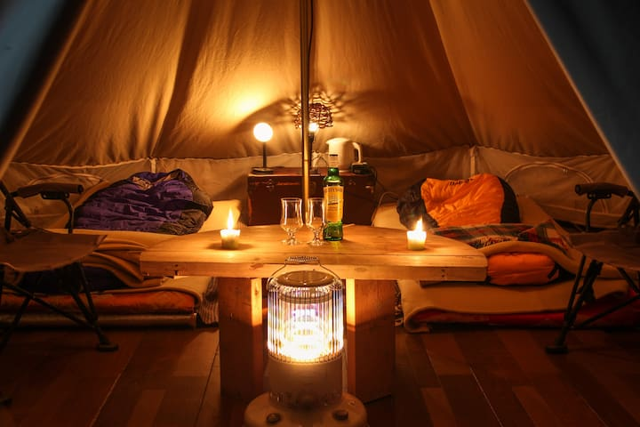 Comfortable Tipi stay in Niseko - 虻田郡 - Tipi