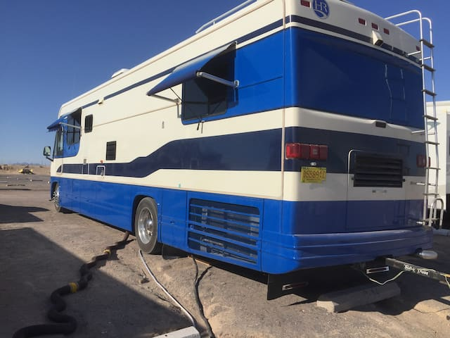 Big Blue RV in the Valley