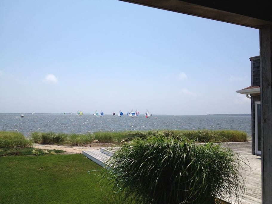 Water view of property