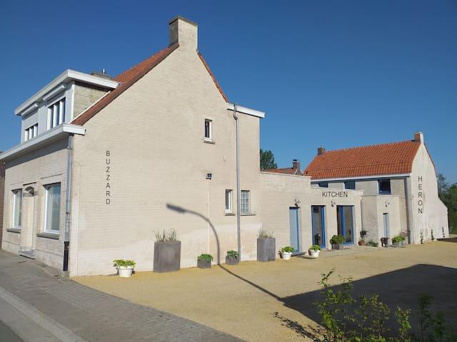 Vakantiehuis Meerse/Buzzard & Heron