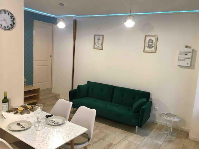Appartement * Le Musoir * rez-de-chaussée