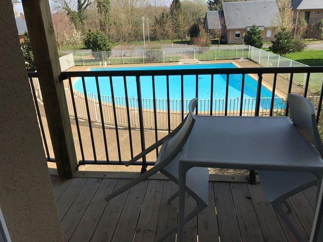 Charmant studio avec piscine à 5 min de Honfleur - Équemauville - Leilighet