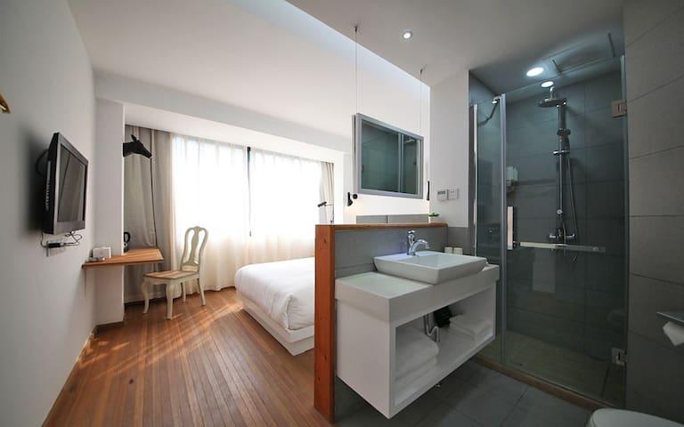 梦-陆号房,设计师设计,温馨独立的房间,近灵隐、北高峰 - Hangzhou - Villa