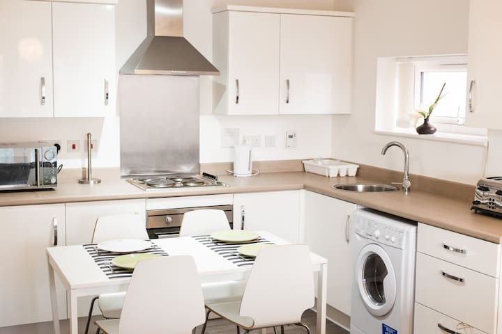 Stylish 2 Bedroom Apartment Media City Manchester - Salford - Apartment