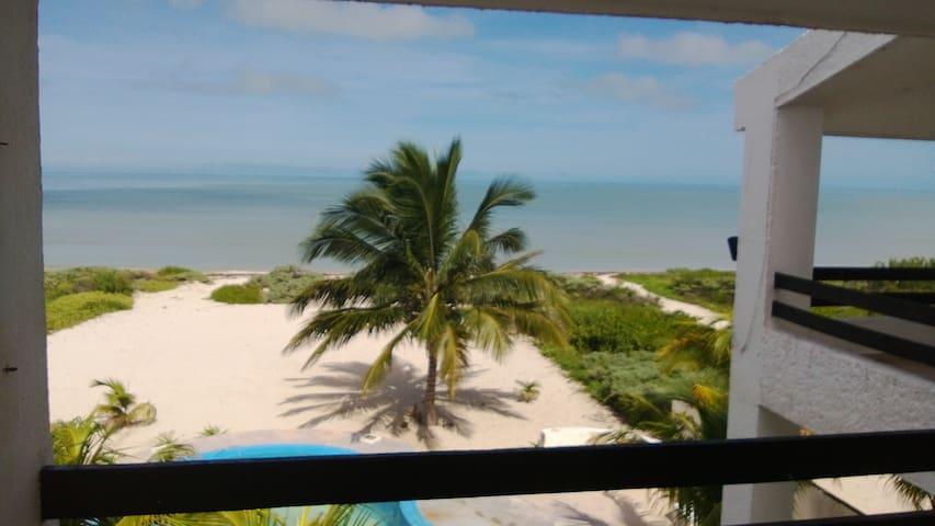 Departamento en la Playa en Yucatán - Chicxulub Puerto - Byt