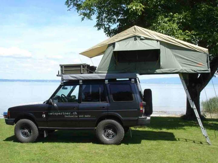 Dachzelt inkl Vorzelt mieten, Camping Jederzeit