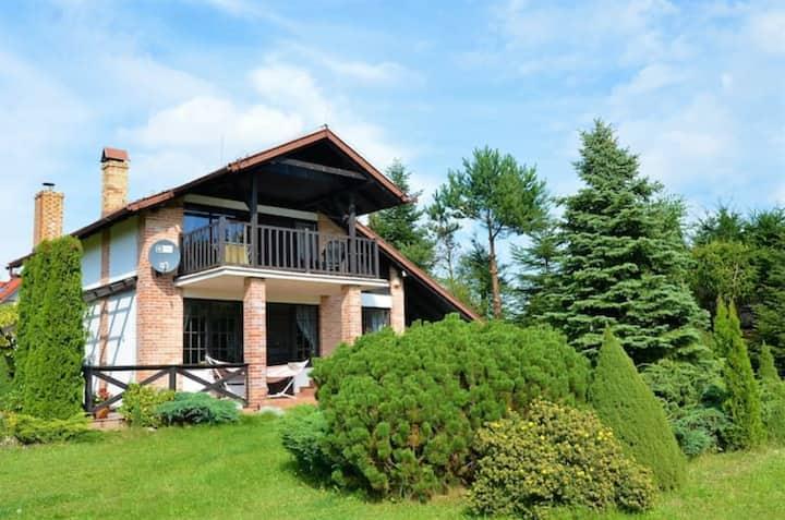Piękny, praktyczny dom w sercu Kaszub