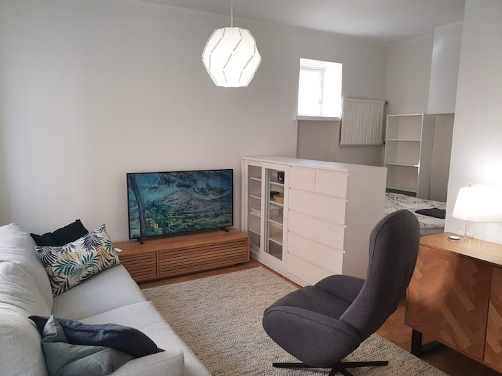 Elegant studio next to Sörnäinen metro station