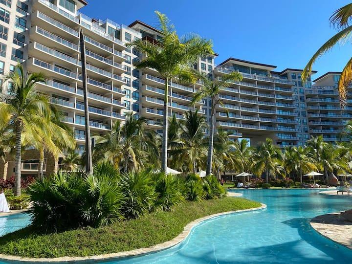 Hermoso departamento en la Isla Residence Acapulco