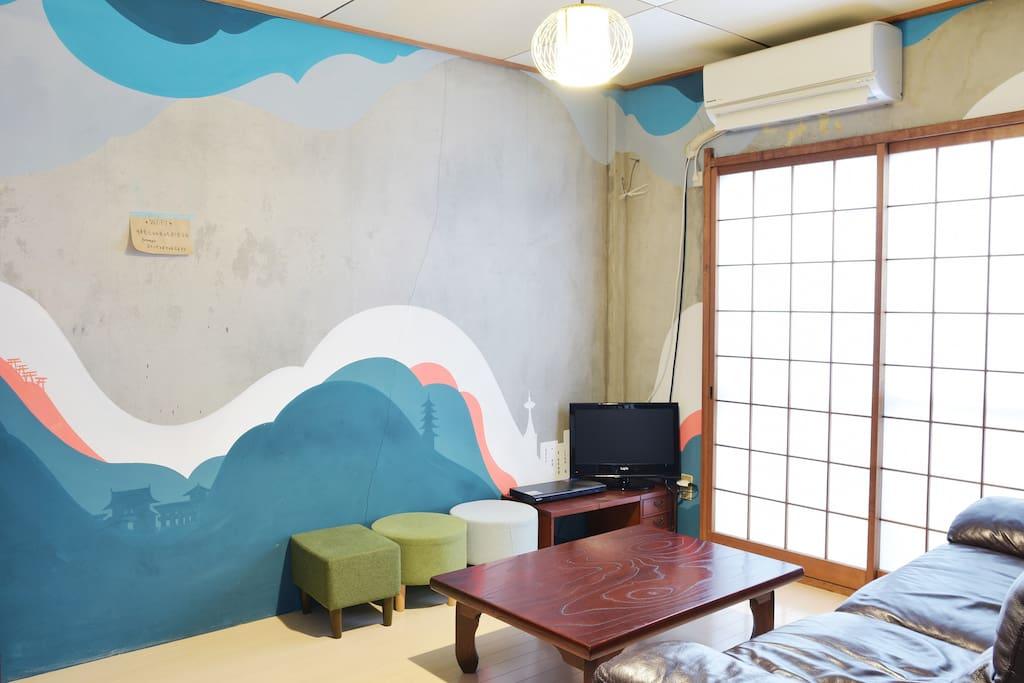 Living room / Communal area リビングルーム