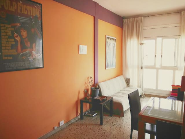 Double Room in a Bright Flat / Montjüic Park