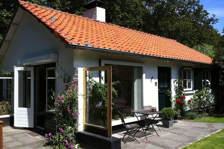 Ferienhaus in schöner Lage im Wald, am Fuße der Dünen bei Koudekerke.