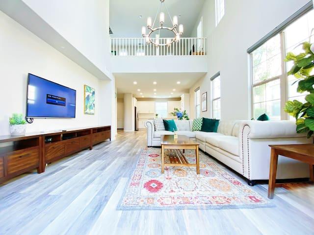 尔湾3房3.5卫私享空间独栋别墅,赴美生子,旅游、商务的首选之地