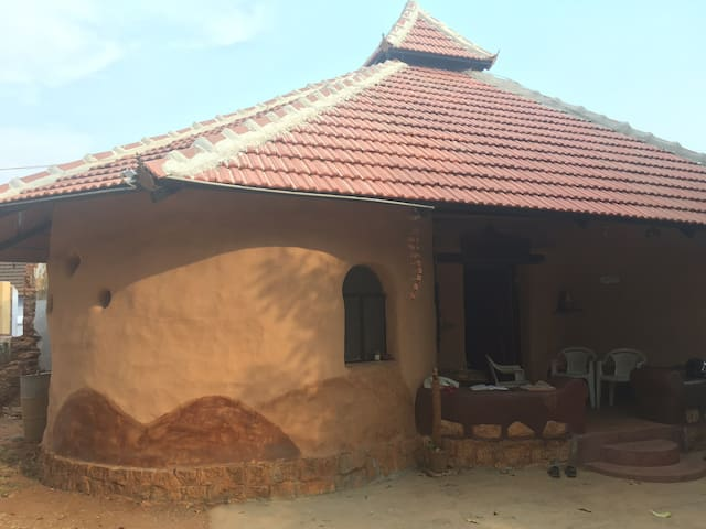 Experience a Mud house. rural life home made food