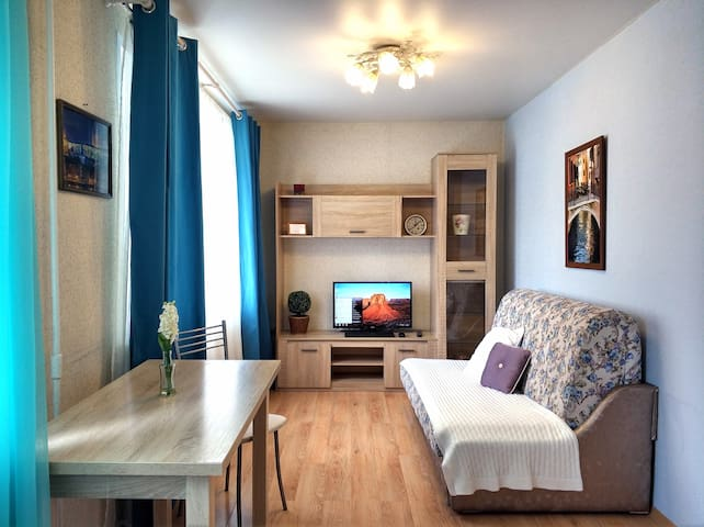 2-room apartment - studio in the city center