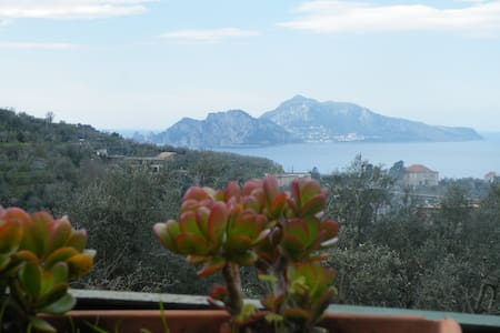 Small apartment with view of Capri - Massa Lubrense