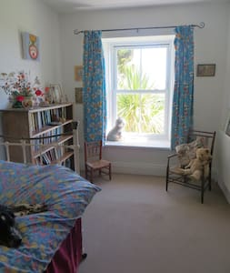 Bright single room with extra mattress for two - Cornwall