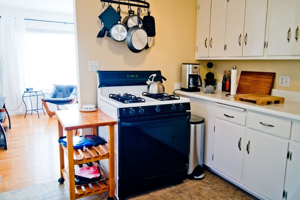 Cozy kitchen with everything you need