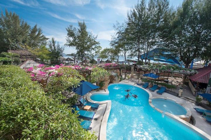 3 Superior Rooms - Private Hotel in Gili Trawangan