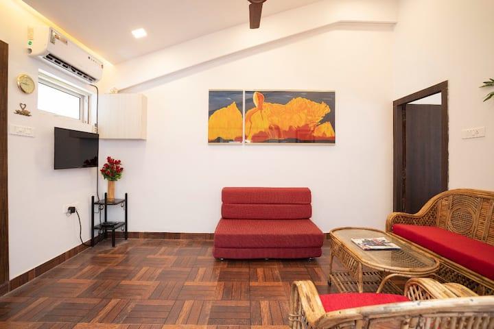 1BHK Casa Goa - Candolim Beach Road