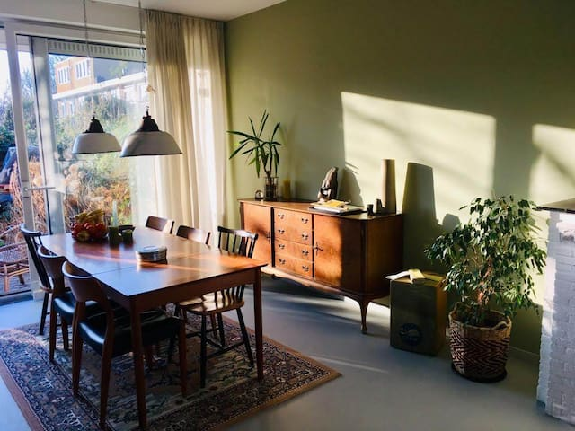 Lovely Family home with garden in Amsterdam west