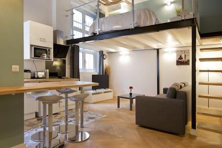 Duplex for 4P Center Paris Marais-Montorgueil - 巴黎 - 公寓