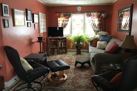 Small artistic haven close to downtown Corning