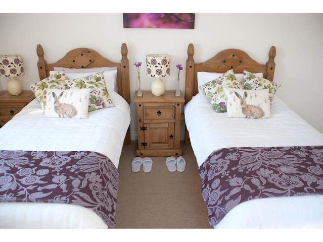 'Ardwell' Twin room with private bathroom - Dumfries and Galloway - 단독주택