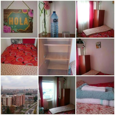 Habitación a 5 mnts del centro - Zaragoza - อพาร์ทเมนท์