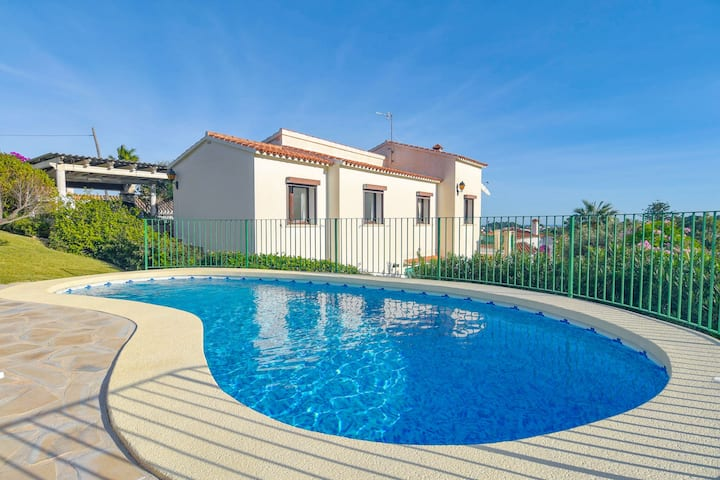 Enchanting villa in Denia Spain with private pool 2 km from the beach