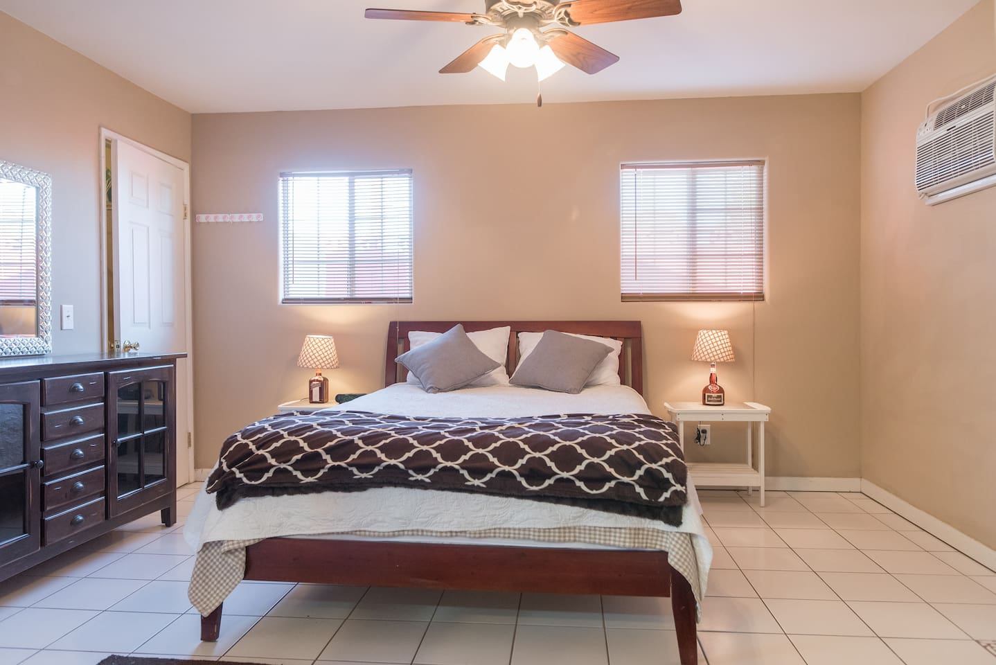 Bedroom with a fabulous Beauty Rest mattress